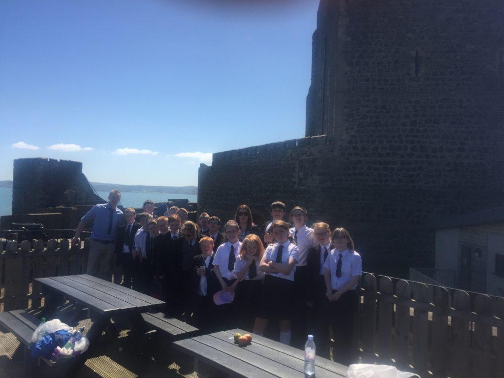 Year 8 Trip To Carrickfergus Castle Castle Tower